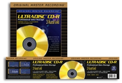Ultradisk CD-R 24 Karat Gold